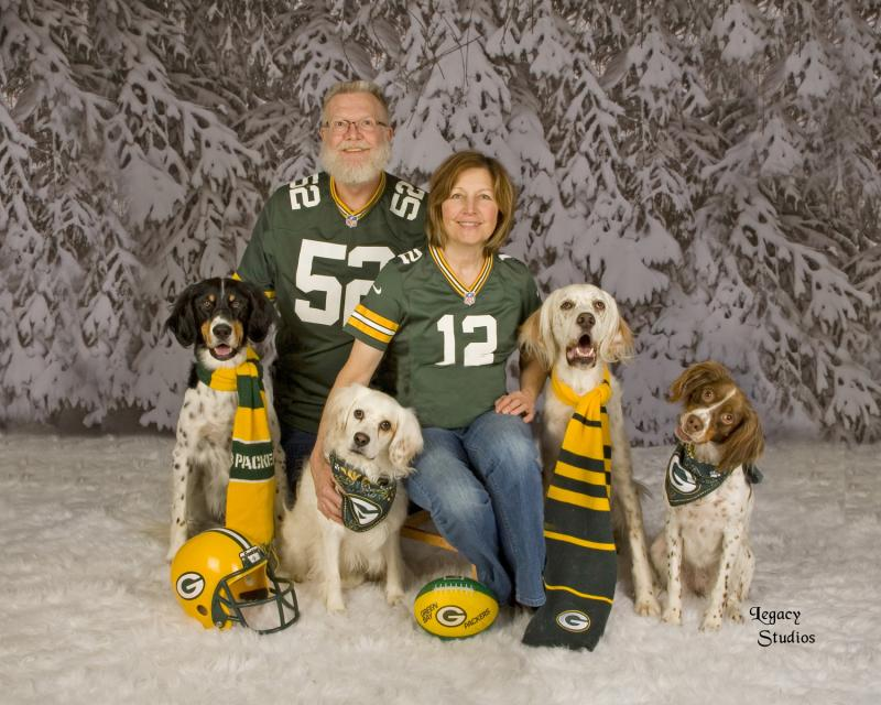 Schmidt family photo - Happy Tails Pet Grooming and Boarding Sheboygan, WI